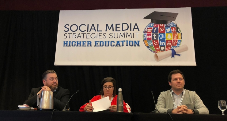 2018 Social Media Strategies Summit NYC: HigherEd